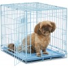 Small Dog Crate Blue 24 Inches   Dog Crates